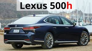lexus twin turbo takes off 2018 lexus ls 500h 0 60 mph in 5 2 sec 354 hp youtube
