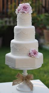 wedding cakes pretty pearl wedding cake by ivory cake company picmia