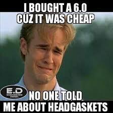 Cheap Meme - engineereddiesel meme i bought a 6 0 cuz it was cheap no one