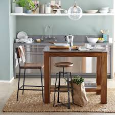 rustic kitchen island rustic kitchen island west elm