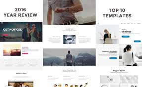 top 10 premium responsive website html5 bootstrap templates in 2016