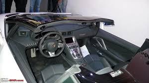 lamborghini aventador convertible lamborghini aventador roadster launched 4 7 cr team bhp