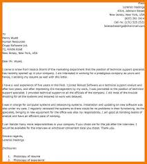 8 technical support cover letters mbta online