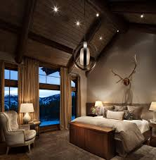 Rustic Bedroom Lighting Bedroom Rustic Bedroom Ideas And Ceiling Lighting In Rustic