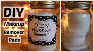 diy makeup remover pads wipes youtube