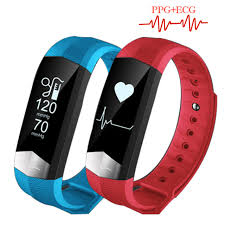 bracelet with heart rate images Zucoor smart wristband bracelet pulse monitor heart rate ecg rb76 jpg