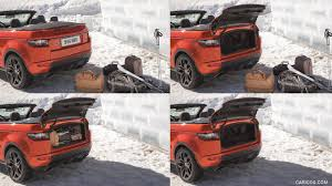 evoque land rover convertible 2017 range rover evoque convertible trunk hd wallpaper 9