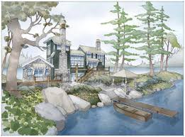 visbeen a cabin home plan that maximizes lake views cabin life