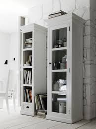 narrow bookcase white furniture home beautiful walmart shelf bookcase white in cube