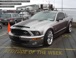 2008 Mustang Gt Black Vapor 2008 Ford Mustang Shelby Gt 500 Super Snake Coupe