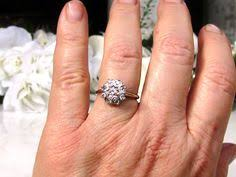 engagement rings size 8 what a gorgeous cluster antique engagement ring this