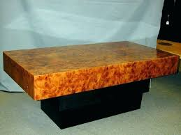 Redwood Coffee Table Burl Wood Coffee Table Umechuko Info
