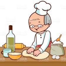 faire de la cuisine baker pétrir la pâte et faire du dans la cuisine de boulangerie