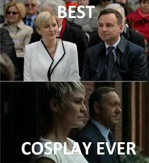 Frank Underwood Meme - new president of poland and frank underwood with his wife meme guy