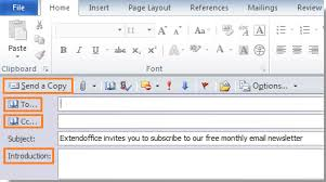 how to layout a email how to send a word document as email body in outlook