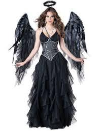 Halloween Female Costumes Large Genuine Black Feather Angel Wings Thepurplepeacockshop