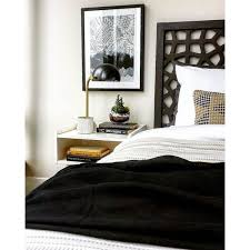 West Elm Bed Frames West Elm Morocco Headboard Simple Bed Frame Queen Chocolate