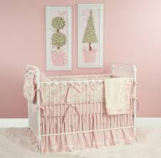 pale pink nursery bedding 11124