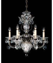 Swarovski Crystal Home Decor Lighting Breathtaking Chandelier From Schonbek For Luxury Home