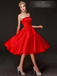 red tea length prom dresses naf dresses