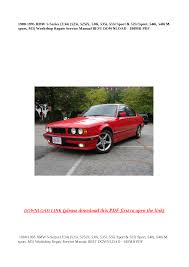 1988 bmw 530i e34 related infomation specifications weili