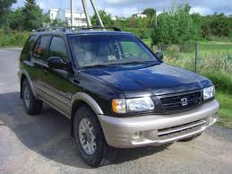 2001 honda passport information and photos zombiedrive