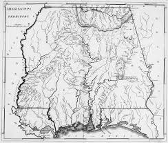 Mississippi Map Usa by Digital History