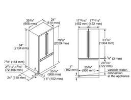 cabinet depth refrigerator dimensions amazing french door fridge dimensions inspirational frigidaire for