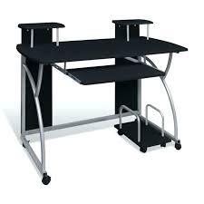 petit bureau noir petit bureau informatique petit bureau informatique en bois et