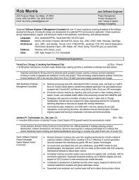 Sle Resume For Software Engineer With Experience best resume format for software developer sales developer lewesmr