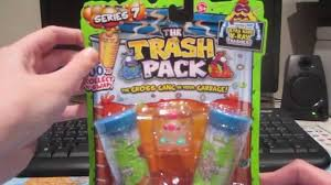 trash pack series 7 junk germs 5 pack unboxing