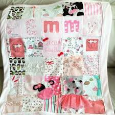 keepsake blankets baby memory blanket made from baby grows baby clothes quilt