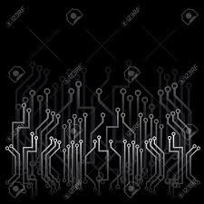 technisches design schwarz abstract background with technisches design lizenzfrei