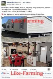 halloween mobile home giveaway