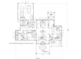 technical floor plan rockwood timber home floor plan