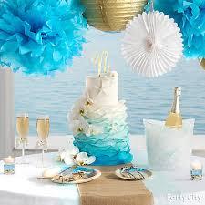 beach love reception cake table idea beach love reception ideas