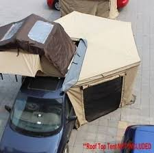 Rooftop Awning Antenergy 2 5m Batwing Skywing Awning Annex Kit Roof Top Tent