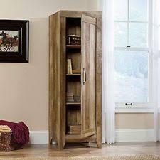 Sauder Homeplus Storage Cabinet Sauder Furniture 418137 Adept Storage Craftsman Oak Tall Narrow