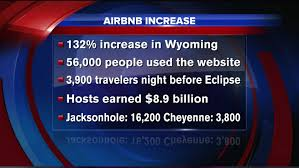 airbnb wyoming airbnb users on the rise in wyoming