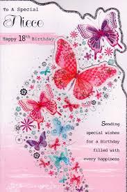birthday cards for niece niece 18th birthday cards alanarasbach
