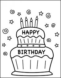 printable birthday card decorations free printable birthday cards for kids