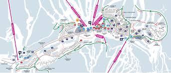 Twin Peaks Map Village Map Sun Peaks Resort
