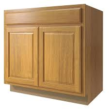 kitchen base cabinets lowes now portland 33 in w x 35 in h x 23 75 in d wheat sink base stock cabinet