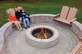 Backyard Patios With Fire Pits Unique Patio Designs