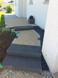 bloc marche escalier exterieur aménagement d u0027allées cuinet