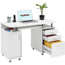 Home Office Desk With Storage by Computer Desk With Storage U0026 A4 Filing Drawer Home Office