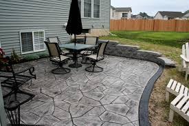 Paver Patio Cost Per Square Foot Stone Texture Stamped Concrete Patio Concrete Patio Stamps