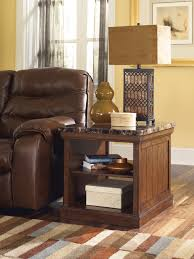 Ashley Furniture End Tables Marble Stone Top Coffee And End Tables