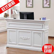 Small Reception Desk Usd 215 42 European Style Baking Paint Cashier Simple Convenience