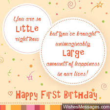 1st birthday wishes birthday quotes and messages